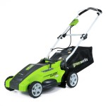 "GreenWorks 25142 10 Amp Corded 16"" Lawn Mower"
