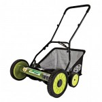Sun Joe Mow Joe MJ501M Reel Mower with Grass Catcher