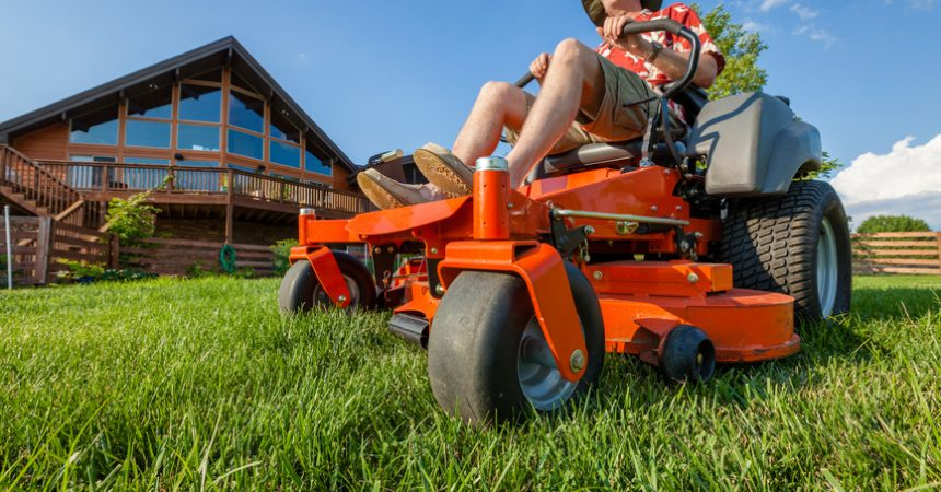 zero turn mower featured