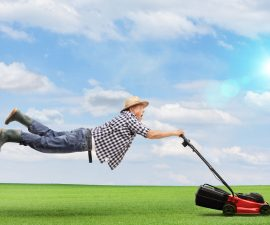 Can Lawnmowers Fly